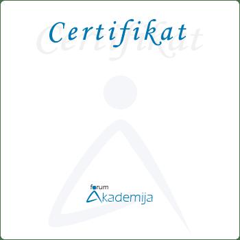Certifikat Forum Akademija
