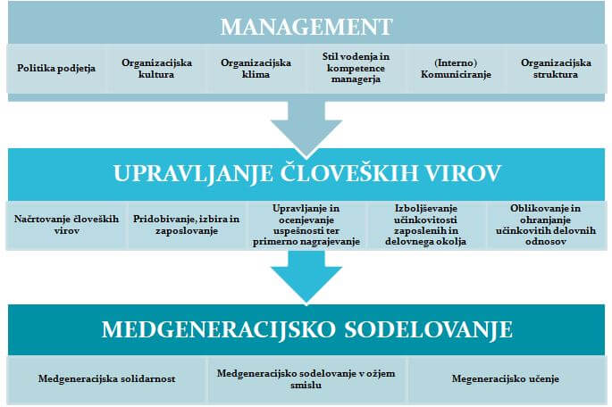 medgeneracijsko sodelovanje model
