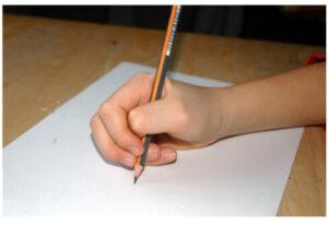 nepravilna drža grafomotorika pisanja
